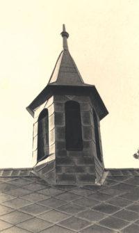 Věž zámku v Dobré vodě 1936